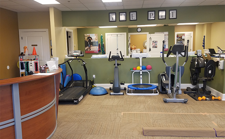 BenchMark Physical Therapy in Chelsea, AL Clinic Interior