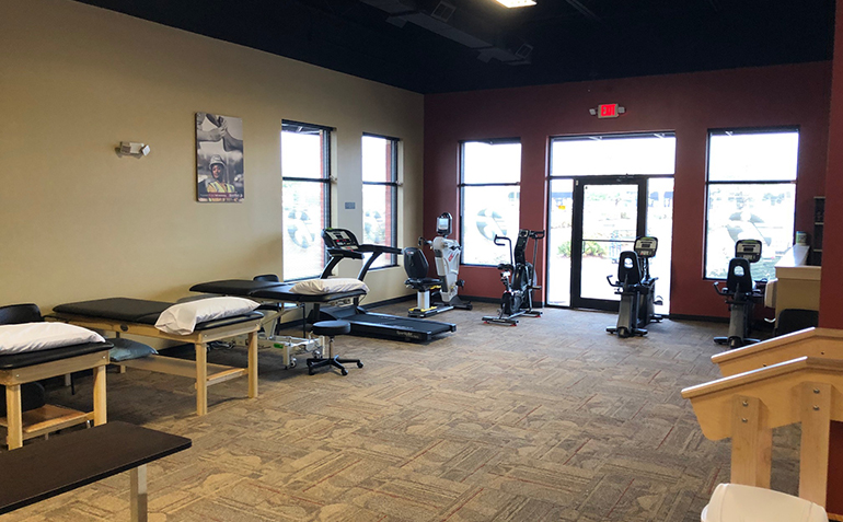 BenchMark Physical Therapy, Millsboro, DE Exercise Equipment