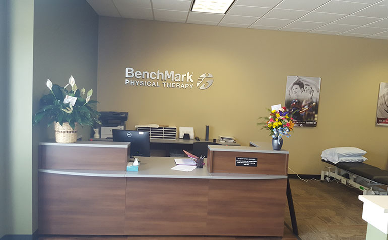 BenchMark Physical Therapy in Alma, GA Reception Area
