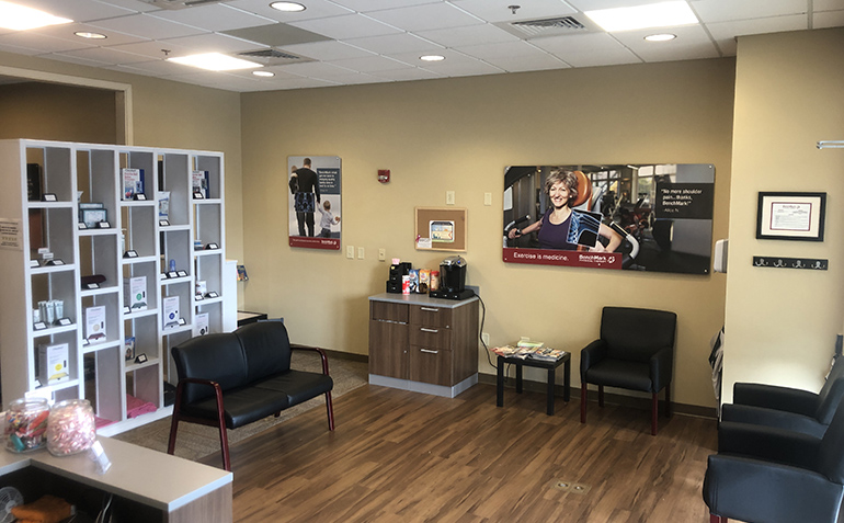 BenchMark Physical Therapy in Gulf Shores, AL Clinic Reception Area