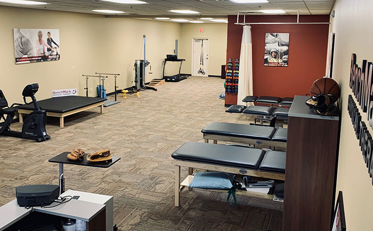BenchMark Physical Therapy in Jeffersontown, KY Treatment Tables