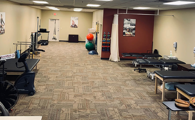 BenchMark Physical Therapy in Jeffersontown, KY Exercise Area