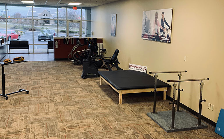 BenchMark Physical Therapy in Jeffersontown, KY Clinic Interior