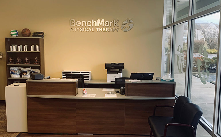 BenchMark Physical Therapy in Jeffersontown, KY Reception Area