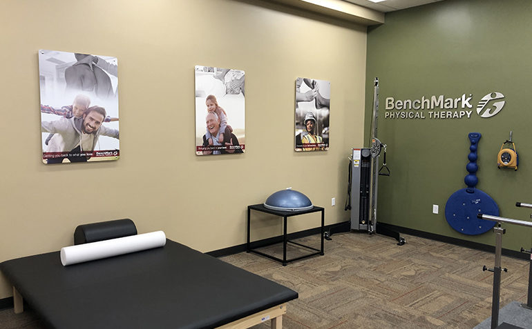 BenchMark Physical Therapy in Ocean Springs, MS Treatment Table