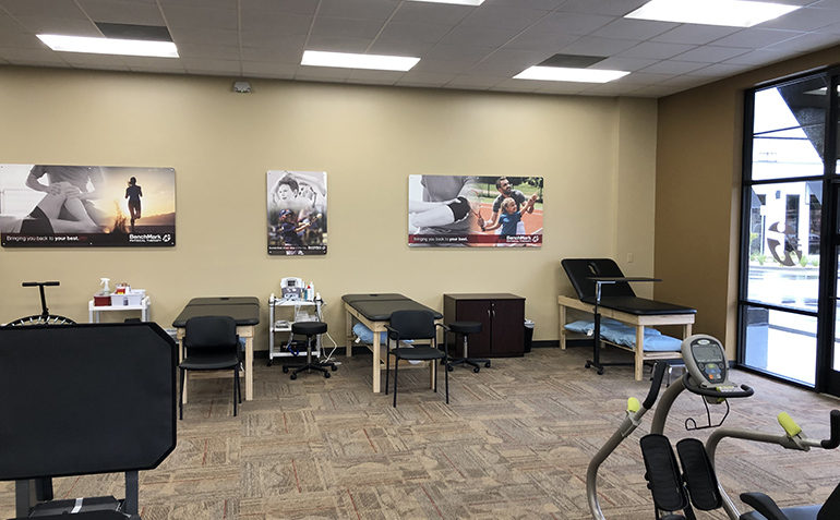 BenchMark Physical Therapy in Ocean Springs, MS Clinic Interior