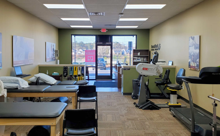 BenchMark Physical Therapy McFarland Parkway Interior