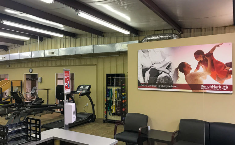 BenchMark Physical Therapy Russellville Interior 9